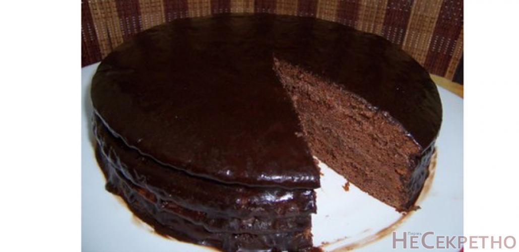 Фото торт прага